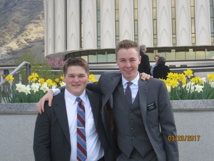 with Elder Smith