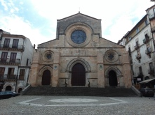 The Duomo in Cosenza (largest/oldest Catholic Church in the area)