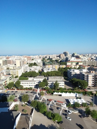 Some cool views from the Zone leader apartment in Taranto