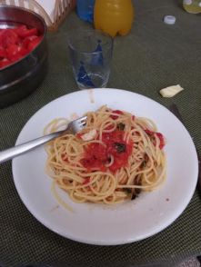 The best spaghetti I've ever had
