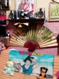 A shrine to Goku from DragonBall Z in the house of the member in Bagheria