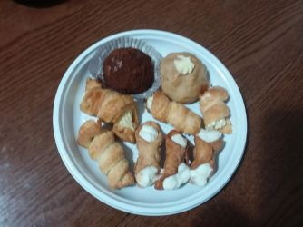 Some dolci our branch president made us