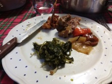 Some really good sheep meat with veggies, the carrots with it are seriously the best tasting carrots I have ever had.