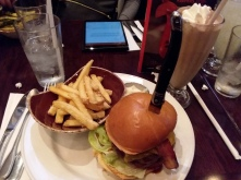 the burger I had at Hard Rock cafe