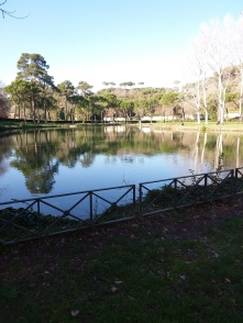 A sick park in our area called Villa Ada