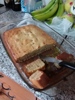 I made some Birthday Banana Bread for my comp (it actually turned out pretty good too)