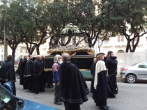 Crazy Catholic Easter procession in Bari