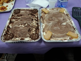 Tiramisù d'orzo that I made for a ward pranzo