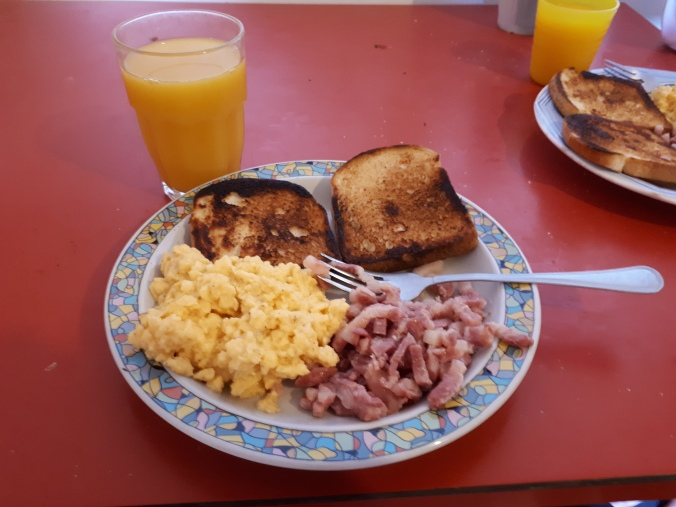 Photo of my super american breakfast that I made the other day.