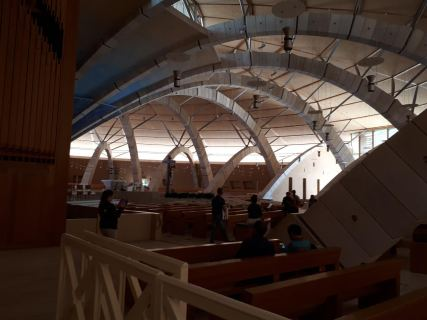 An extremely great and spacious chapel