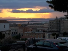 View of Cagliari